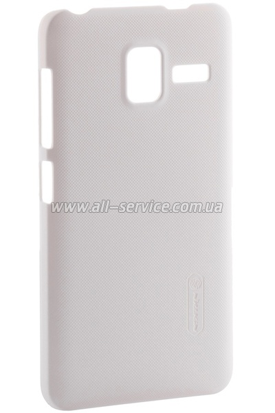 Чехол NILLKIN Lenovo A850+ - Super Frosted Shield White