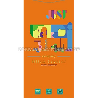 Защитная пленка JUST Ultra Crystal Screen Protector Universal 6