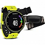Фитнес-трекер GARMIN Forerunner® 230, GPS, EU, Yellow & Black Bundle (010-03717-53)
