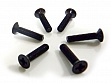 Flat Head Screws 3X14 6P
