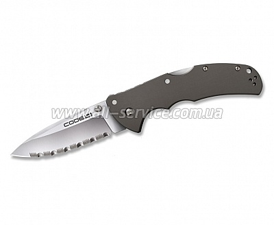 Нож Cold Steel Code 4 Spear Point Serrated (58TPCSS)