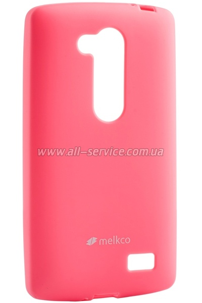 Чехол MELKCO LG L70+ Fino/D295 Poly Jacket TPU Purple
