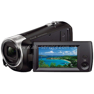 Видеокамера HDV Flash Sony HDR-CX405 Black (HDRCX405B.CEL)