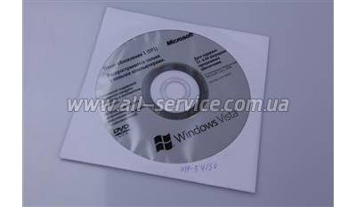Windows Vista SP1 32-bit/ 64-bit Russian DVD (X14-54134)