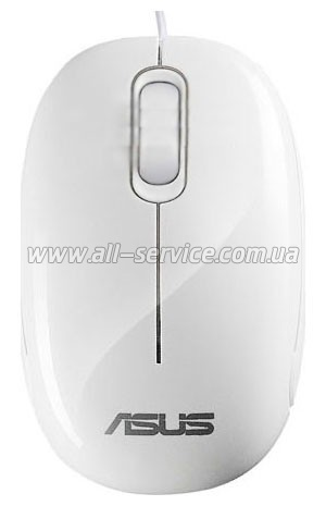 Мышь ASUS SEASHELL MOUSE White (90-XB08OAMU00010)