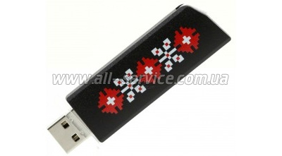 Флешка 16GB GOODRAM CL!CK UKRAINE, Black (PD16GH2GRCLKR9L)