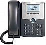 IP-телефон Cisco SB 1 Line IP Phone with Display, PoE and Gigabit PC Port (SPA512G)