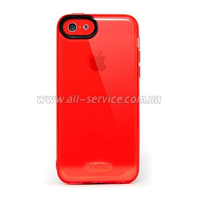 Чехол ODOYO SOFT EDGE  iPhone 5c CHERRY RED PH371RD