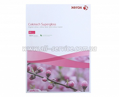Бумага Xerox COLOTECH + SUPERGLOSS 160 A4 250л. (003R97680)