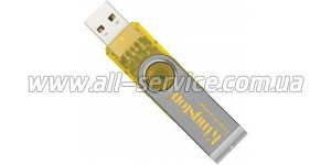 Флешка Kingston DataTraveler 2Gb (DT101Y/2Gb) Yelow