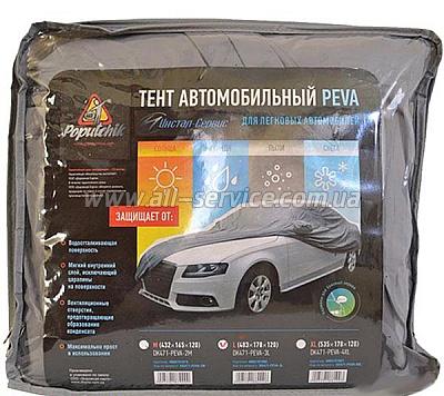 Тент автомобильный Poputchik 10-001-L L Серый