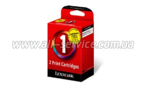 Картридж LEXMARK Z735/X2350 Color (18C0781E x 2) (Twin №1, 80D2131)