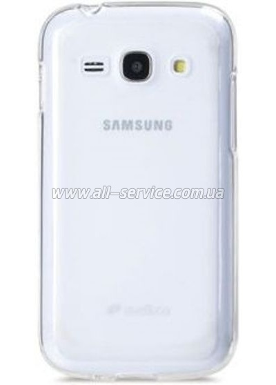 Чехол MELKCO Samsung S7270/7272 Poly Jacket TPU Transparent
