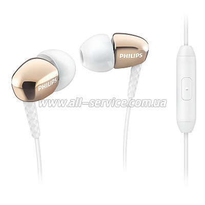 Наушники Philips SHE3905 Gold