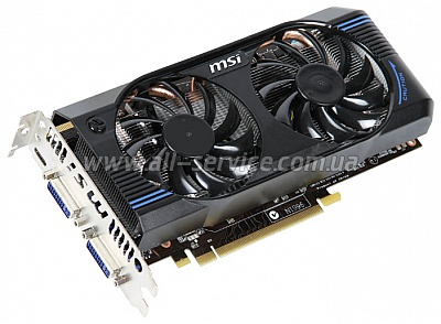Видеокарта MSI GeForce 560GTX (N560GTX-M2D1GD5)