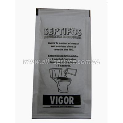 Порошок для выгребных ям Vigor Septifos 25 г (4820152615022)
