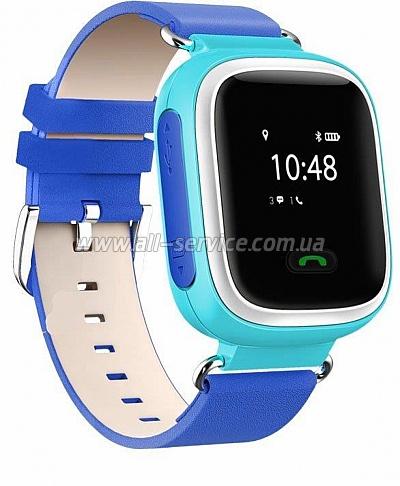 Смарт часы GOGPS ME K10 Синие (K10BL) - Цена 32d90f00639b8
