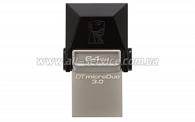 Флешка 64GB KINGSTON DT MicroDuo USB 3.0 (DTDUO3/64GB)