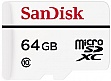 Карта памяти 64GB SanDisk High Endurance Video Monitoring microSDXC Class 10 (SDSDQQ-064G-G46A)