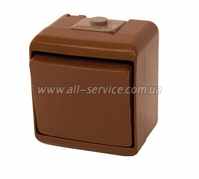 Выключатель ETI VHE-2-KR, IP44, коричневый (4668041)