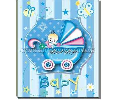 Фотоальбом EVG 10x15x200 BKM46200 Baby car blue