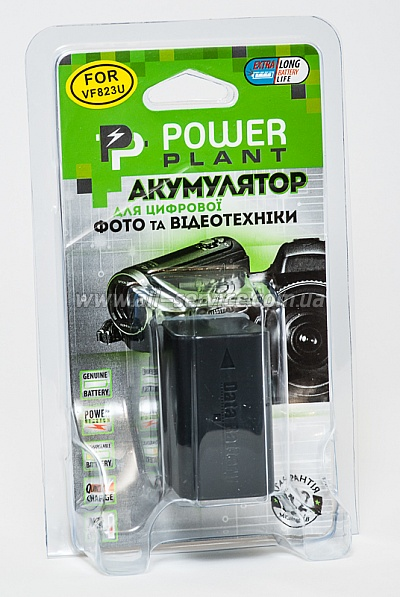 Аккумулятор PowerPlant JVC BN-VF823 (DV00DV1203)