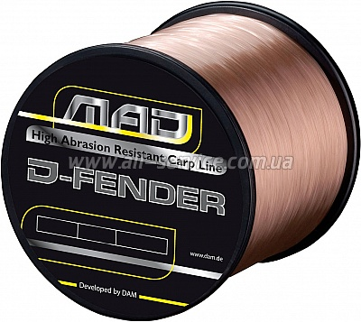 Леска DAM MAD D-Fender Carp Line1600м 0,28мм5,5кг (brown) (3905028)