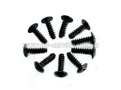 3*10 Round Head Self-Tapping Screws 10P