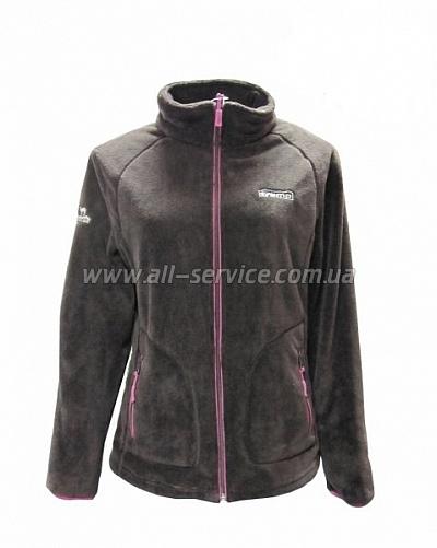 Женская куртка Tramp Мульта S шоколад/розовый (TRWF-003)