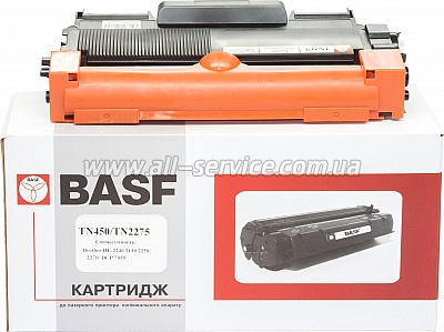 Картридж BASF для Brother HL-2240/ TN450 аналог TN450/ TN2275 Black (BASF-KT-TN2275)