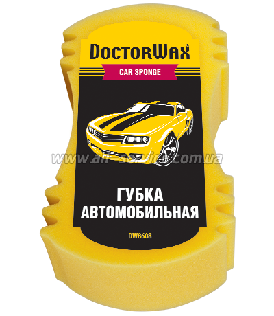 Губка Doctor Wax DW8608