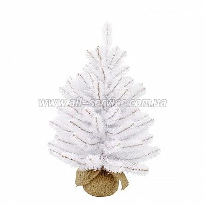 Искусственная ель Triumph Tree Edelman Rainer, белая 0.6 м