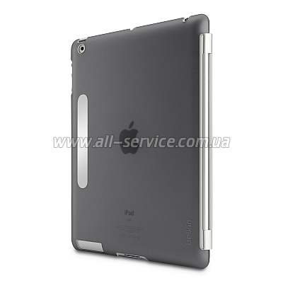 Чехол Belkin iPad 3Gen Snap Shield Secure (Smoke/ серый) (F8N745cwC00)