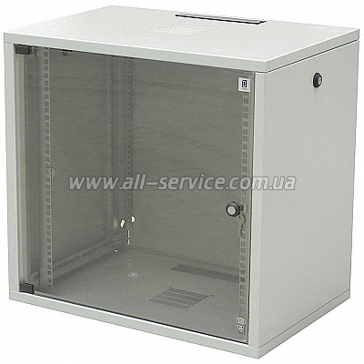 19 шкаф 12U со съемными боковыми стенками (WZ-3615-01-S4-011)