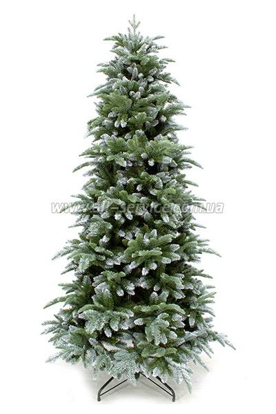 Искусственная ель Triumph Tree Edelman Abies Nordmann с эффектом иния 1.85м.
