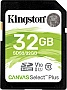 Карта памяти Kingston 32GB SDHC Canvas Select Plus 100R C10 UHS-I U1 (SDS2/32GB)