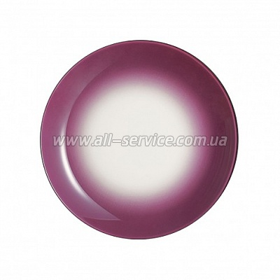 Тарелка Luminarc WINTER FIZZ PURPLE 20 см, суповая (J7836)