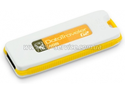 Флешка Kingston DataTraveler G2 4Gb Yellow (DTIG2/4GB)