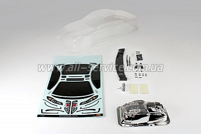 Team Magic K Factory S15 Touring Car Body Clear 190mm