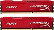 Память 8Gb KINGSTON HyperX OC KIT DDR3, 1600Mhz CL10 Fury Red 2x4Gb (HX316C10FRK2/8)