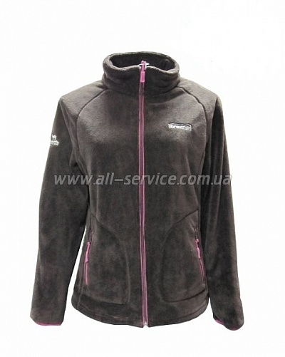 Женская куртка Tramp Мульта XS шоколад/розовый (TRWF-003)