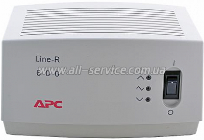 Стабилизатор APC regulator/ conditioner 600VA (LE600-RS)