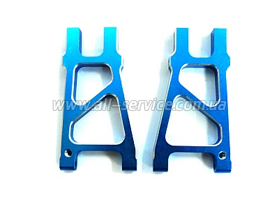 (08039) Blue Alum Rear Lower Arm 2P