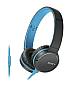 Наушники SONY MDR-ZX660AP Blue (MDRZX660APL.E)