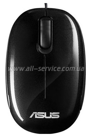 Мышь ASUS SEASHELL MOUSE Black (90-XB08OAMU00020)
