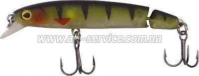 Воблер DAM Effzett Jointed Minnow 6,3см 4,1гр (perch) SI (5685163)