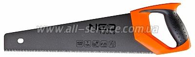 Ножовка по дереву NEO, 400 мм, 7TPI, PTFE (41-011)