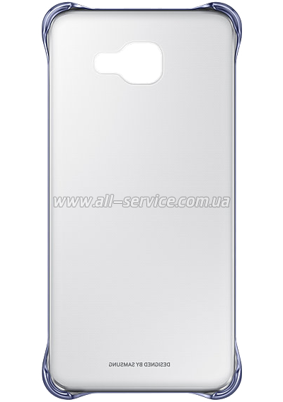 Чехол Samsung Clear Cover EF-QA710CBEGRU Black для Galaxy A7/2016