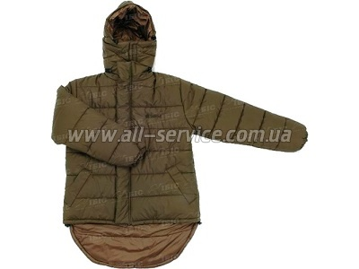 Куртка Snugpak Blizzard Jacket 2XL Olive/Coyote (зел./св. кор.) olive green (8211655604693)