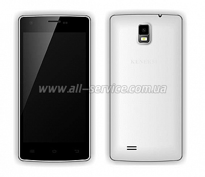 Смартфон KENEKSI Flash Dual Sim White